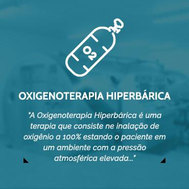 OXIGENOTERAPIA HIPERBÁRICA
